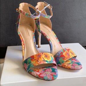 Antonio Melani Floral Heels 7